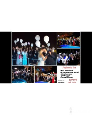 Evento palloncini led